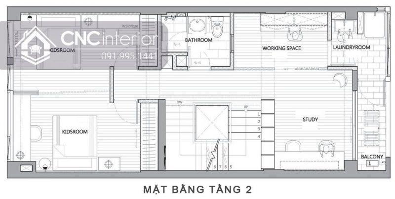 Biet thu Vung Tau Noi that CNC 4