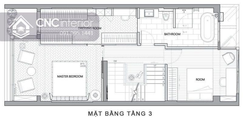 Biet thu Vung Tau Noi that CNC 5
