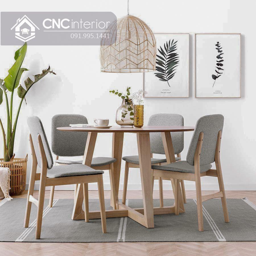 Bộ bàn ăn đẹp CNC 05