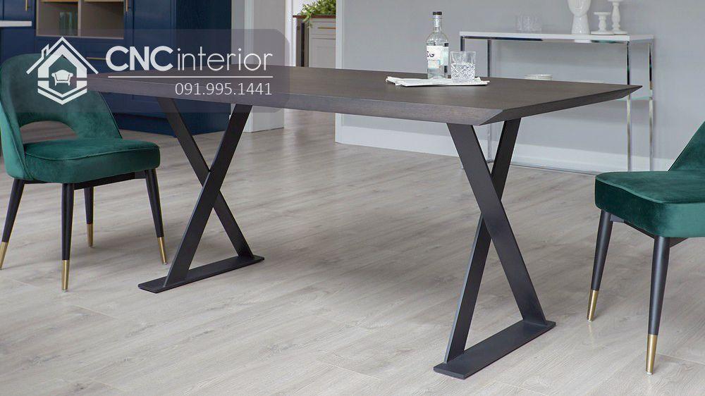 Bộ bàn ăn 6 ghế hiện đại CNC 43 2