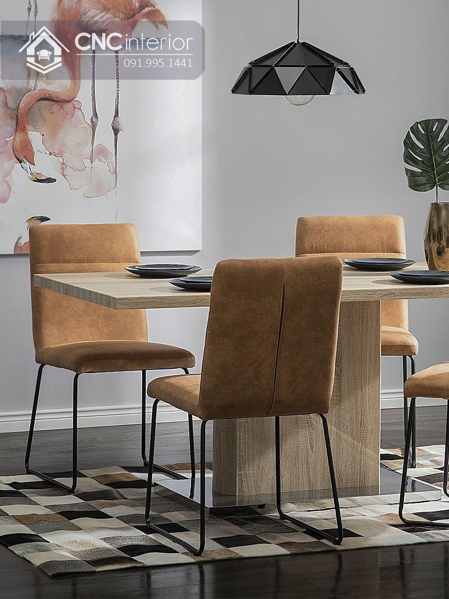 Bộ bàn ăn đẹp CNC 06