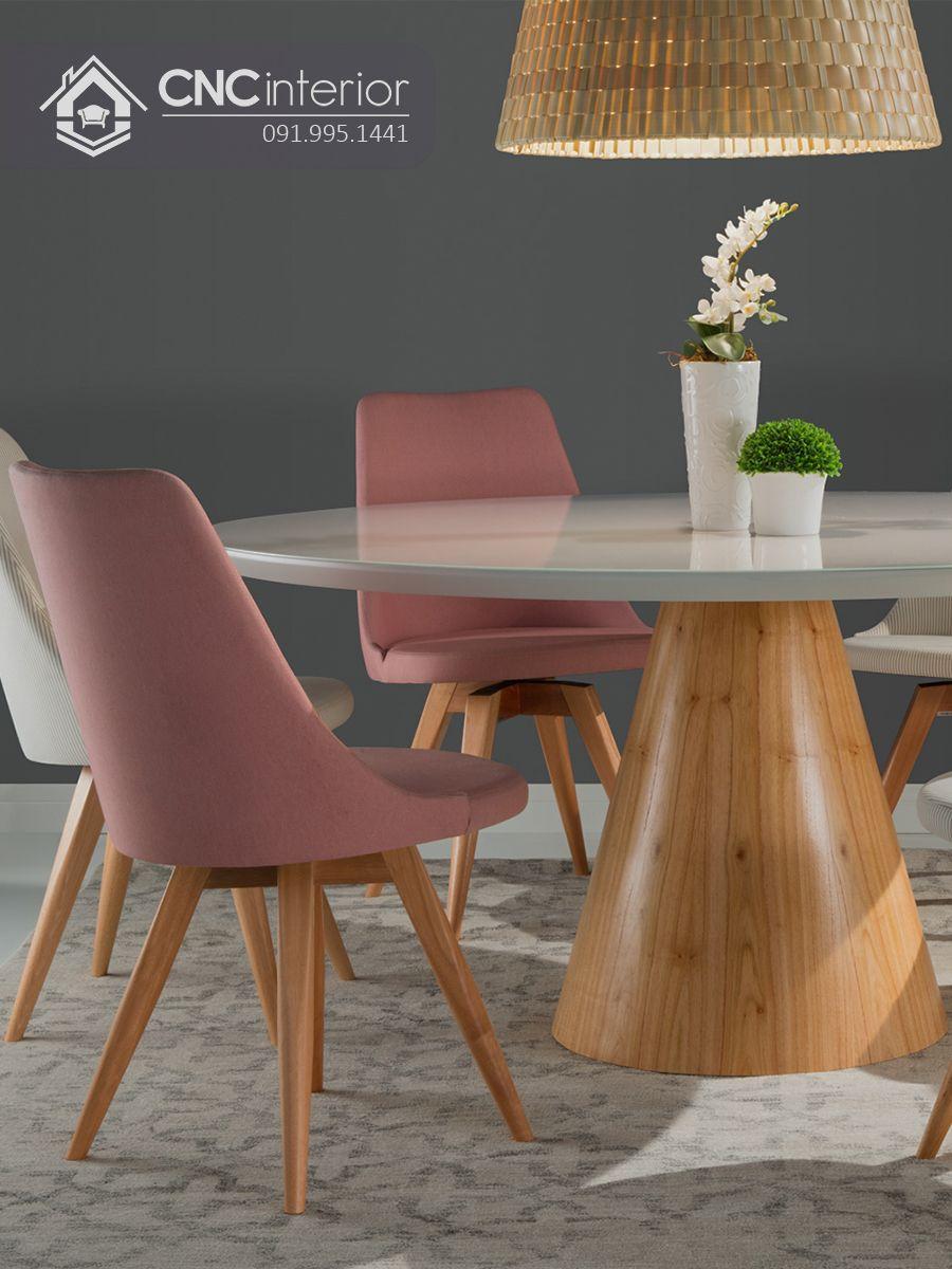 Bộ bàn ăn đẹp CNC 01