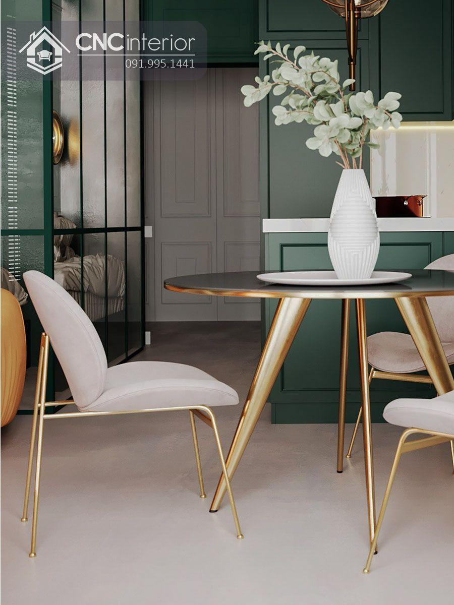 Bộ bàn ăn đẹp CNC 11