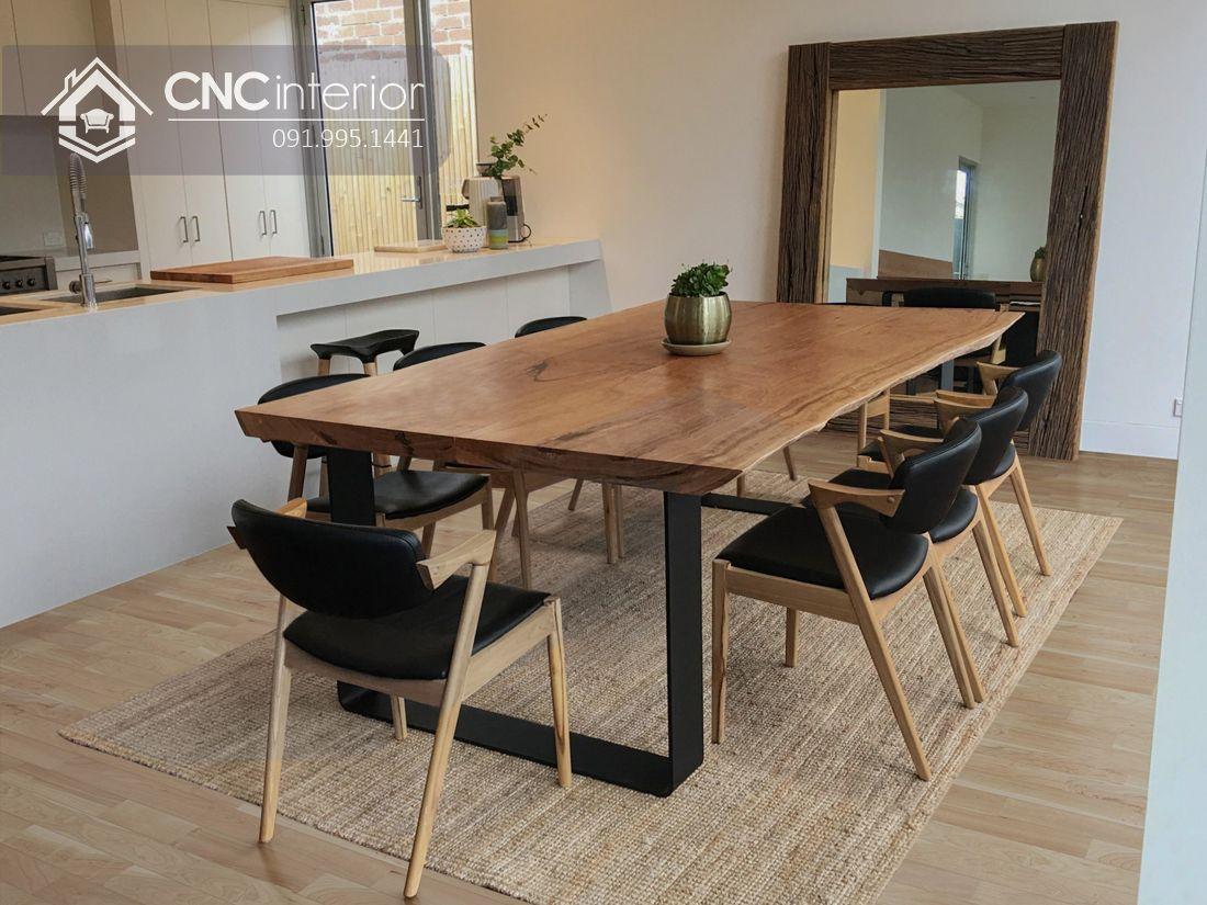 Bộ bàn ăn đẹp CNC 13
