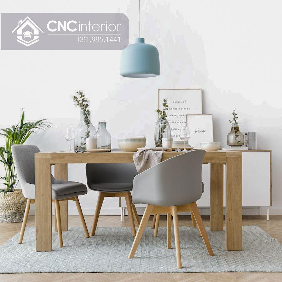 Bộ bàn ăn đẹp CNC 16