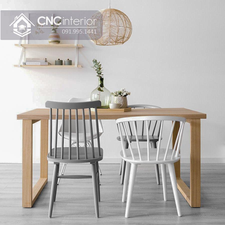 Bộ bàn ăn đẹp CNC 17