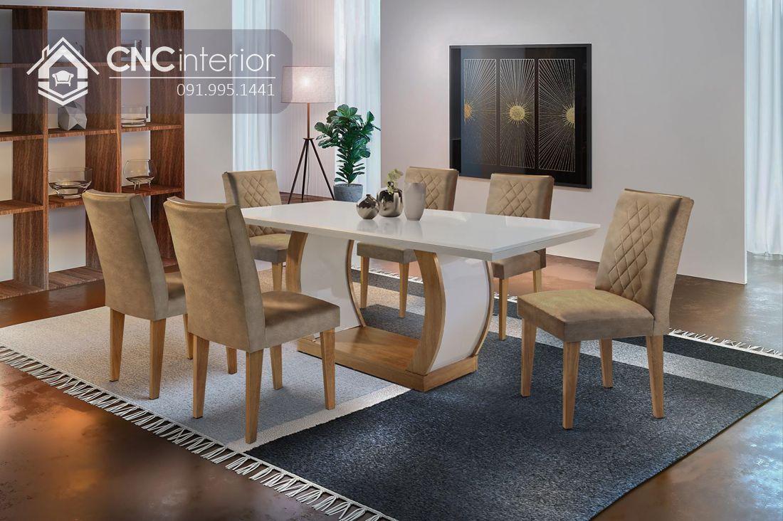 Bộ bàn ghế từ Acrylic rất đẹp và ấn tượng ăn đẹp