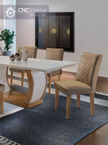 Bộ bàn ăn đẹp CNC 22