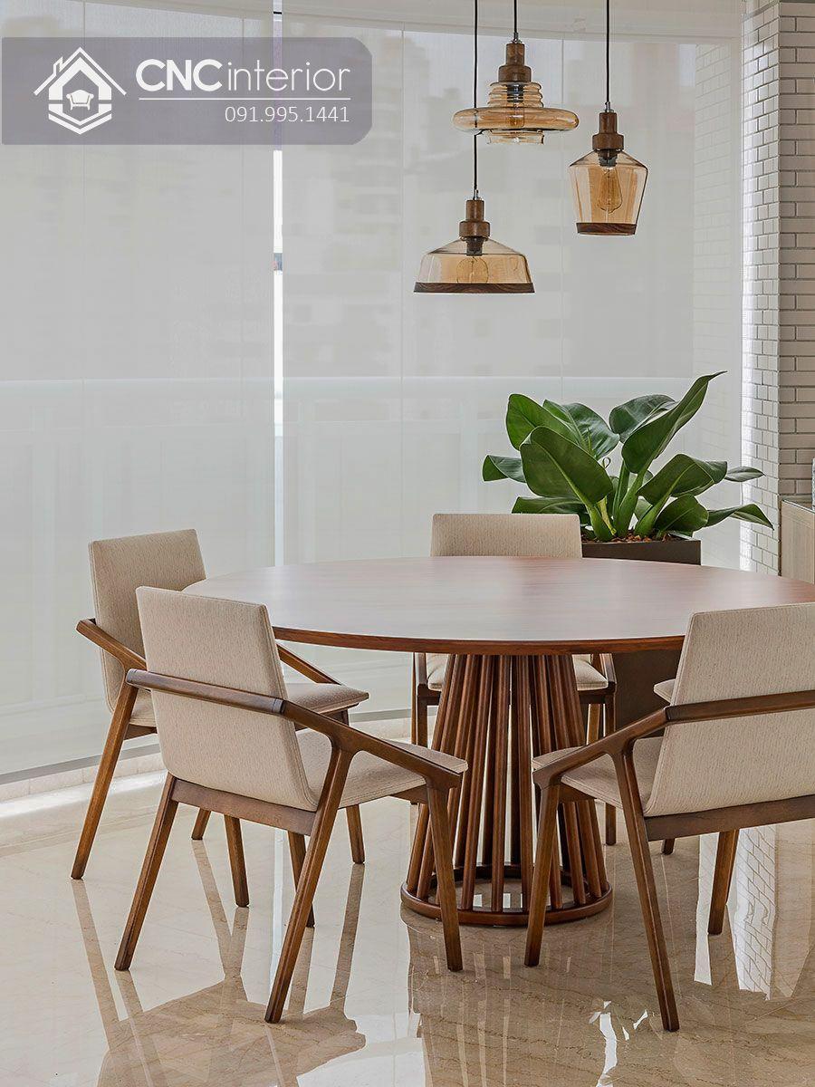 Bộ bàn ăn đẹp CNC 27