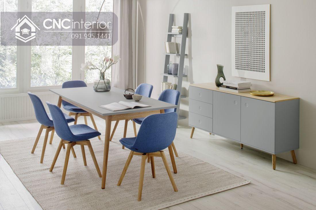 Bộ bàn ăn đẹp CNC 30