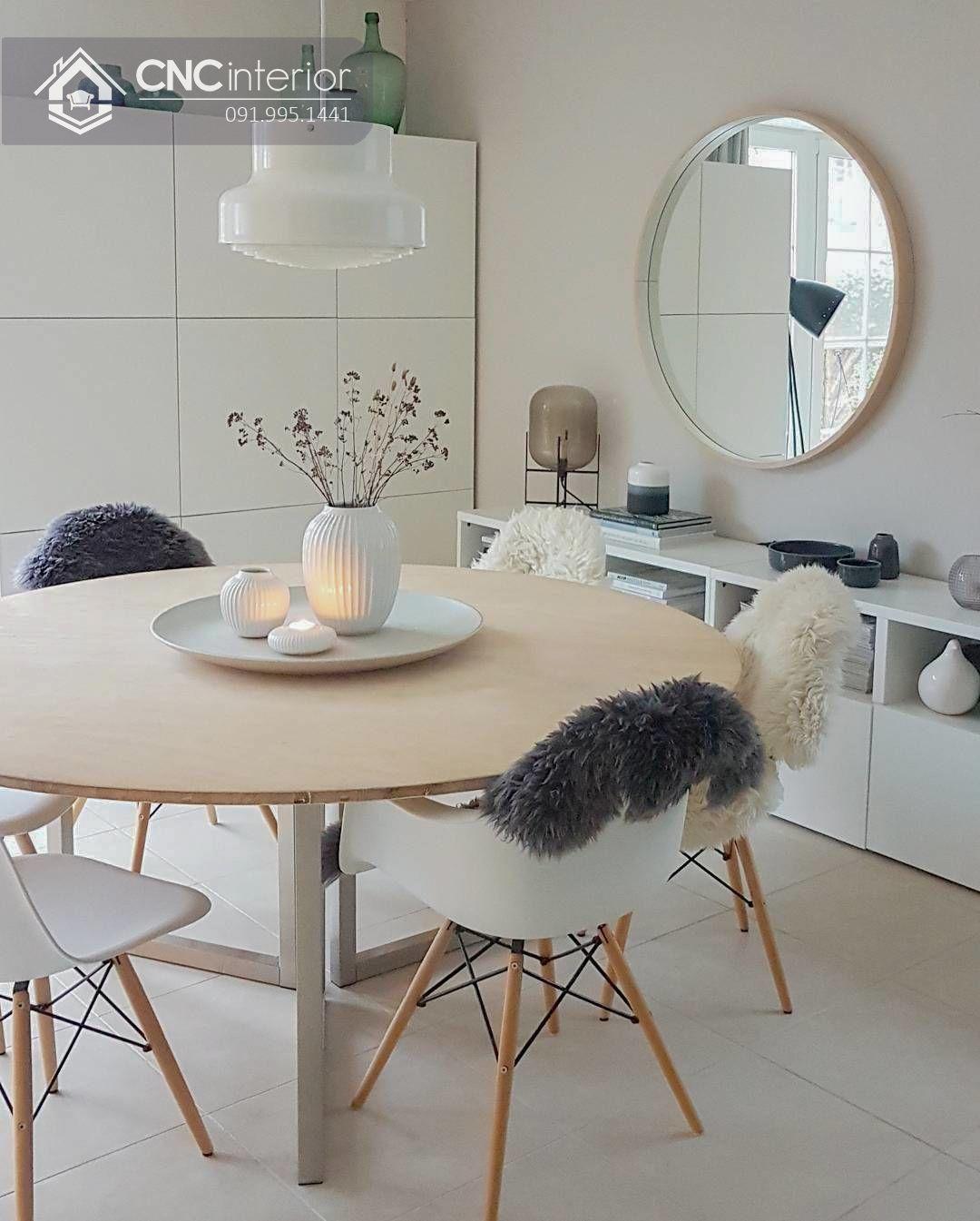 Bộ bàn ăn đẹp CNC 37