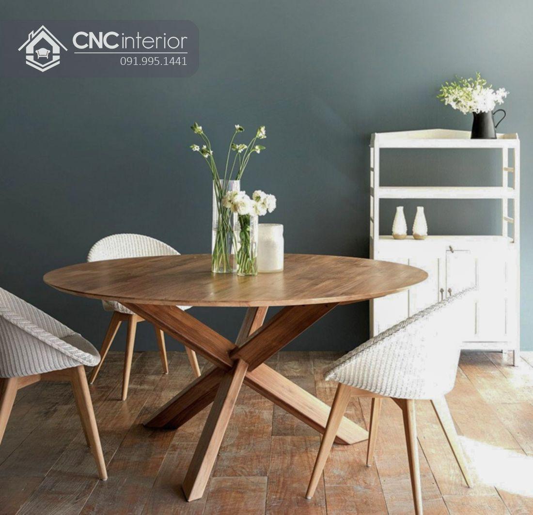 Bộ bàn ăn đẹp CNC 41