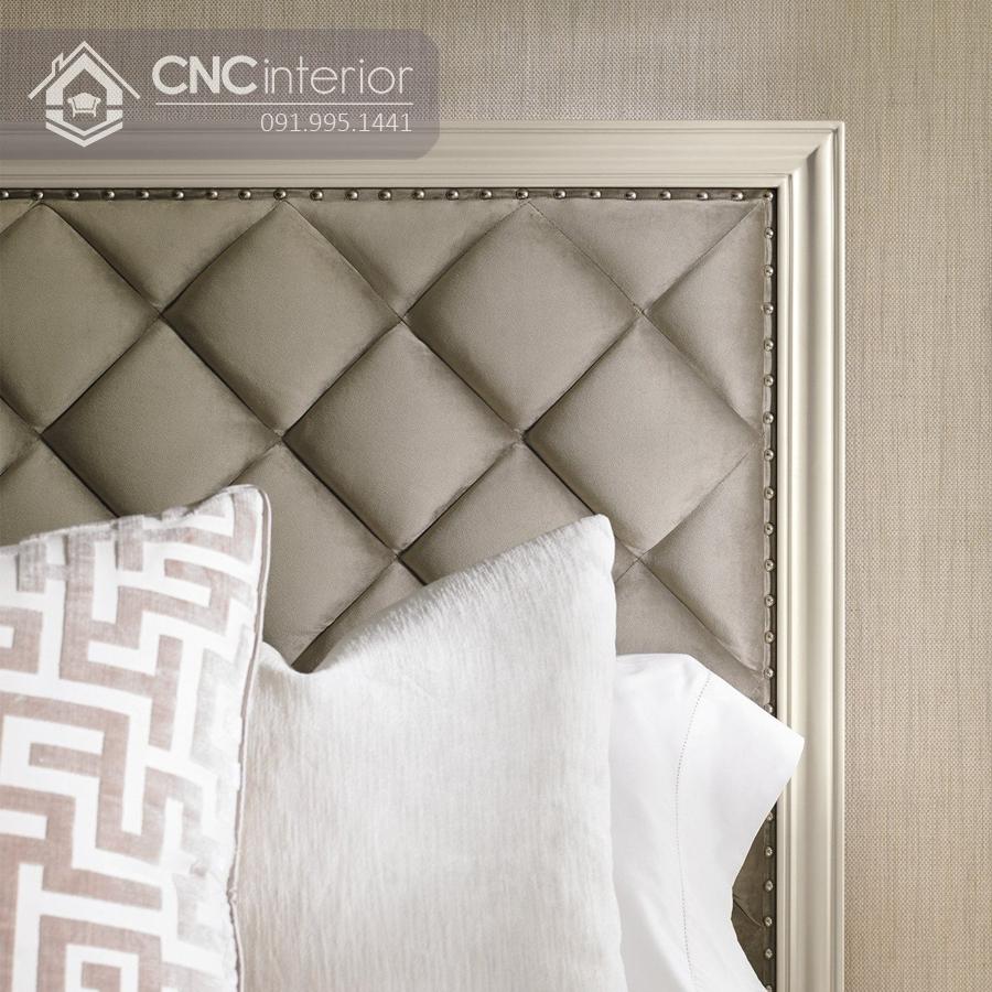 Giường ngủ phong cách tân cổ điển sang trọng CNC 27 1