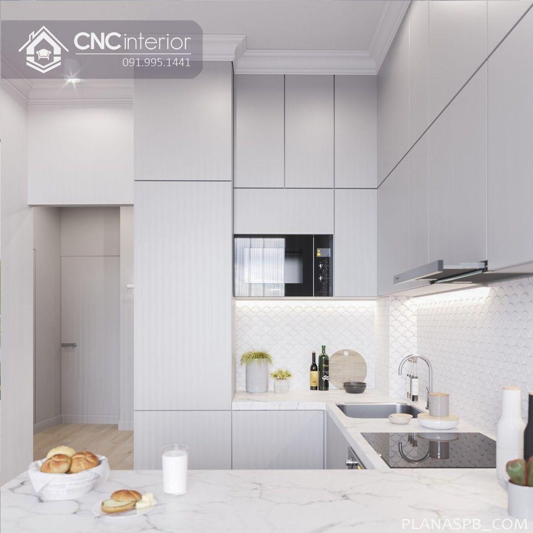 Tủ bếp đẹp CNC 34