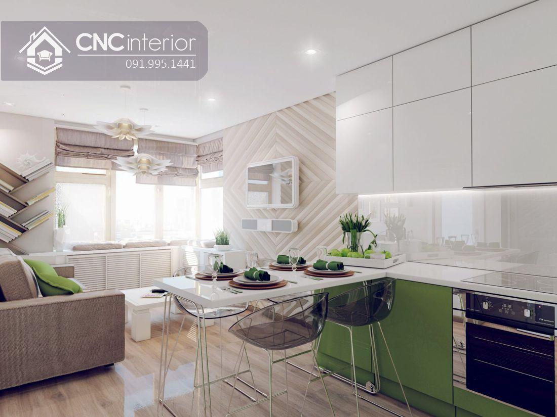 Tủ bếp đẹp CNC 35
