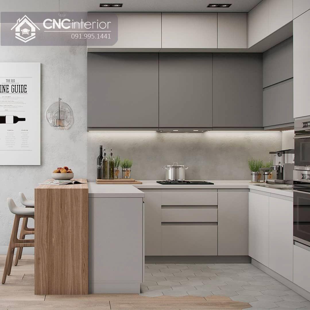 Tủ bếp đẹp CNC 09