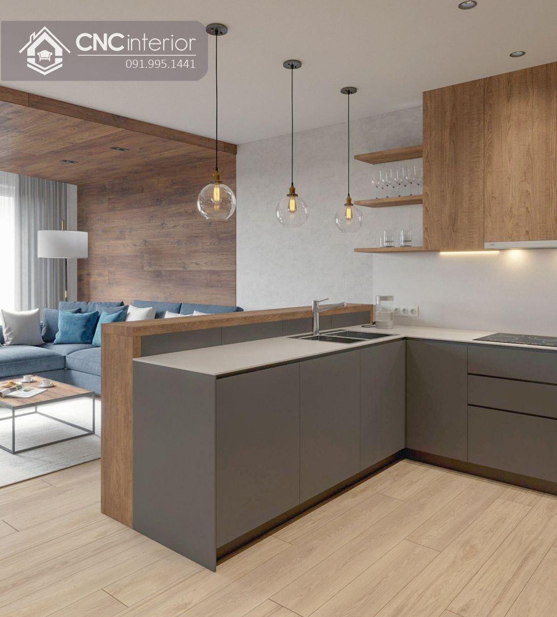 Tủ bếp đẹp CNC 11