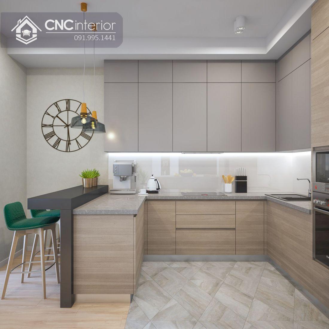 Tủ bếp đẹp CNC 16