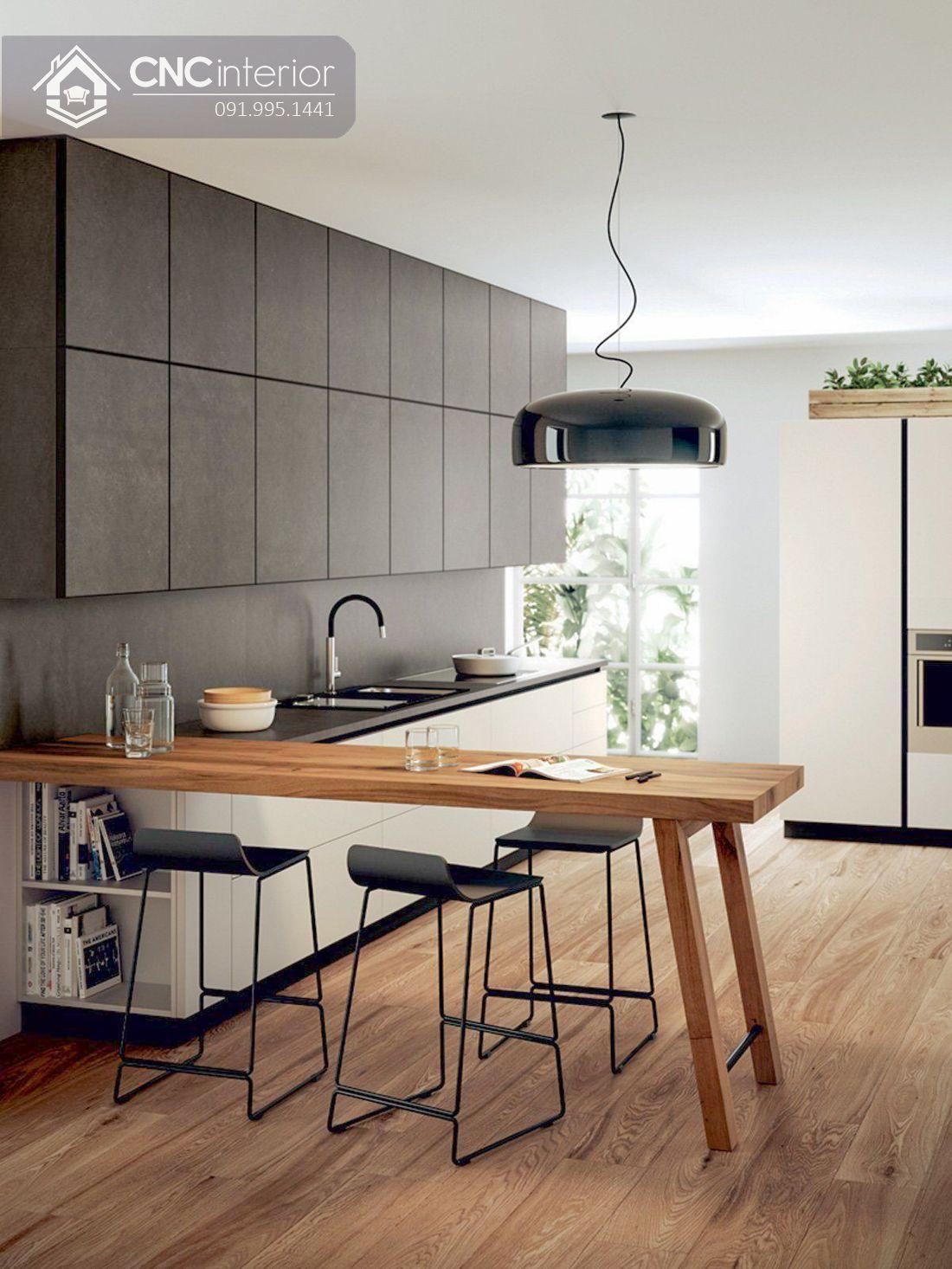 Tủ bếp đẹp CNC 24