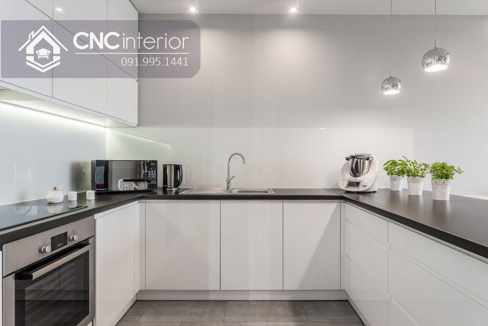 Tủ bếp nhỏ gọn đẹp hiện đại CNC 30 3