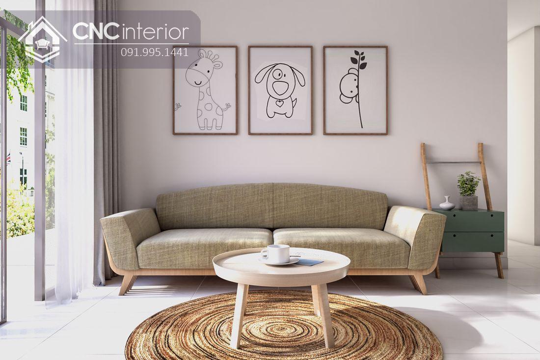 Ghế sofa dài đơn giản phá cách CNC 03 7
