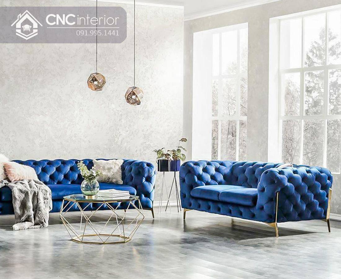Ghế sofa phòng khách phòng cách tân cổ điển CNC 01 3