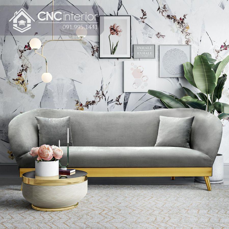 Bộ ghế sofa phong cách đương đại ấn tượng CNC 09 2