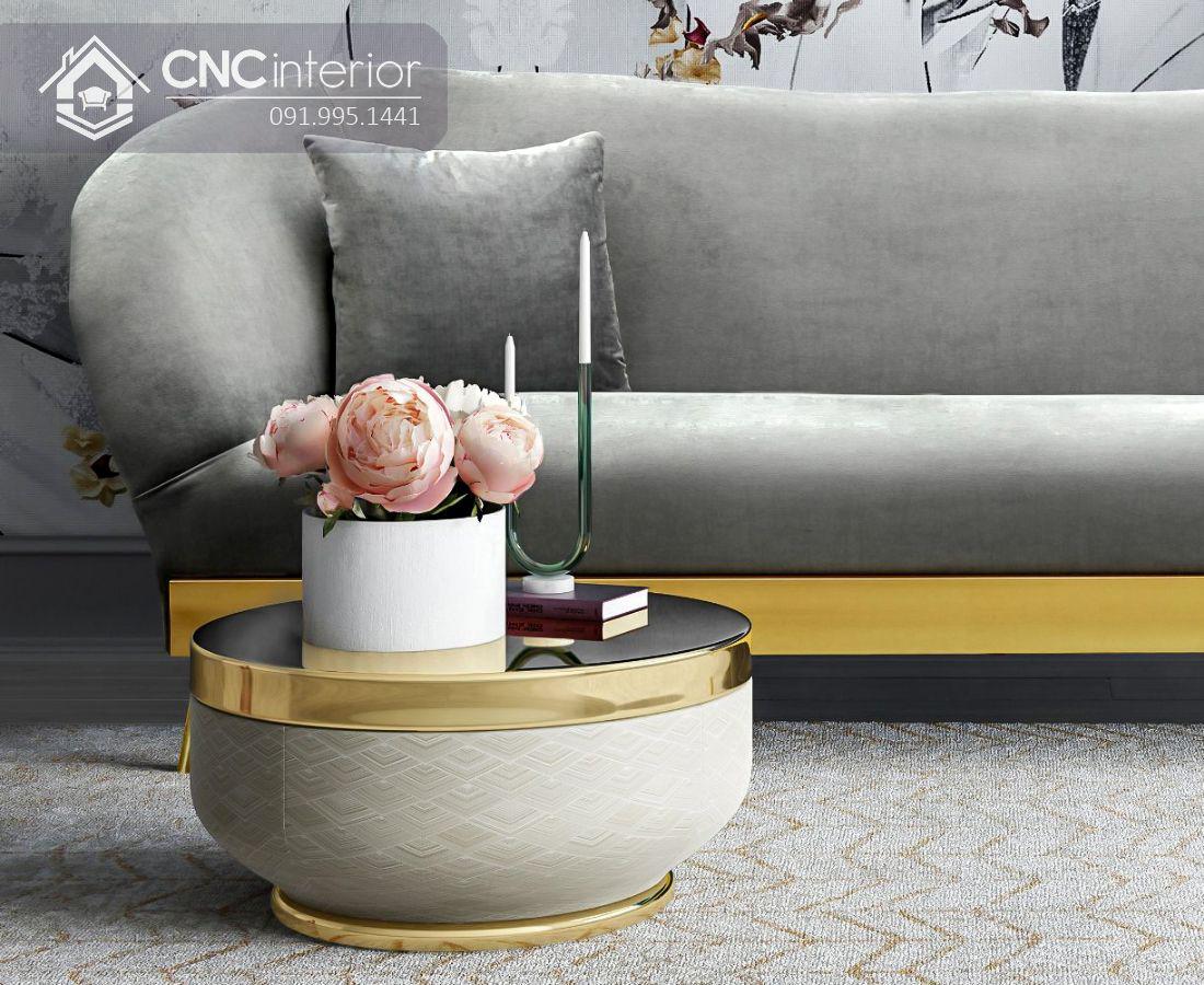 Bộ ghế sofa phong cách đương đại ấn tượng CNC 09