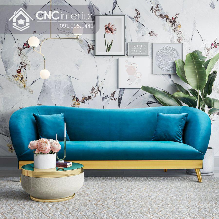 Bộ ghế sofa phong cách đương đại ấn tượng CNC 09 1