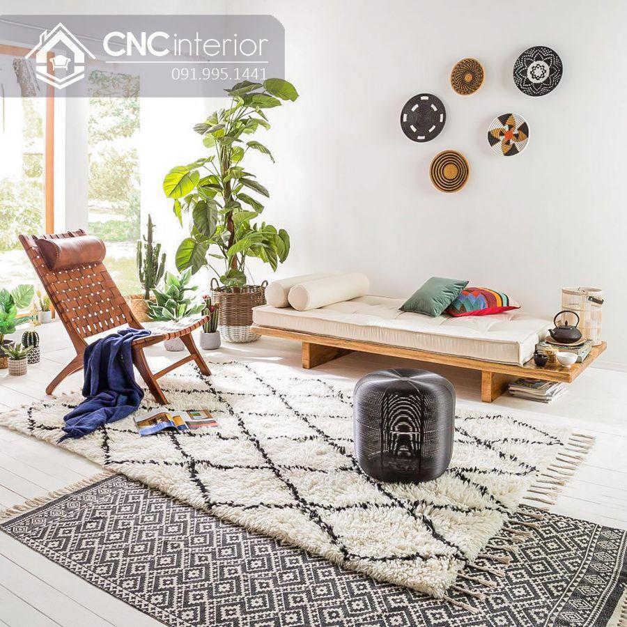 Ghế sofa chữ I phong cách Japandi tối giản CNC 11 1