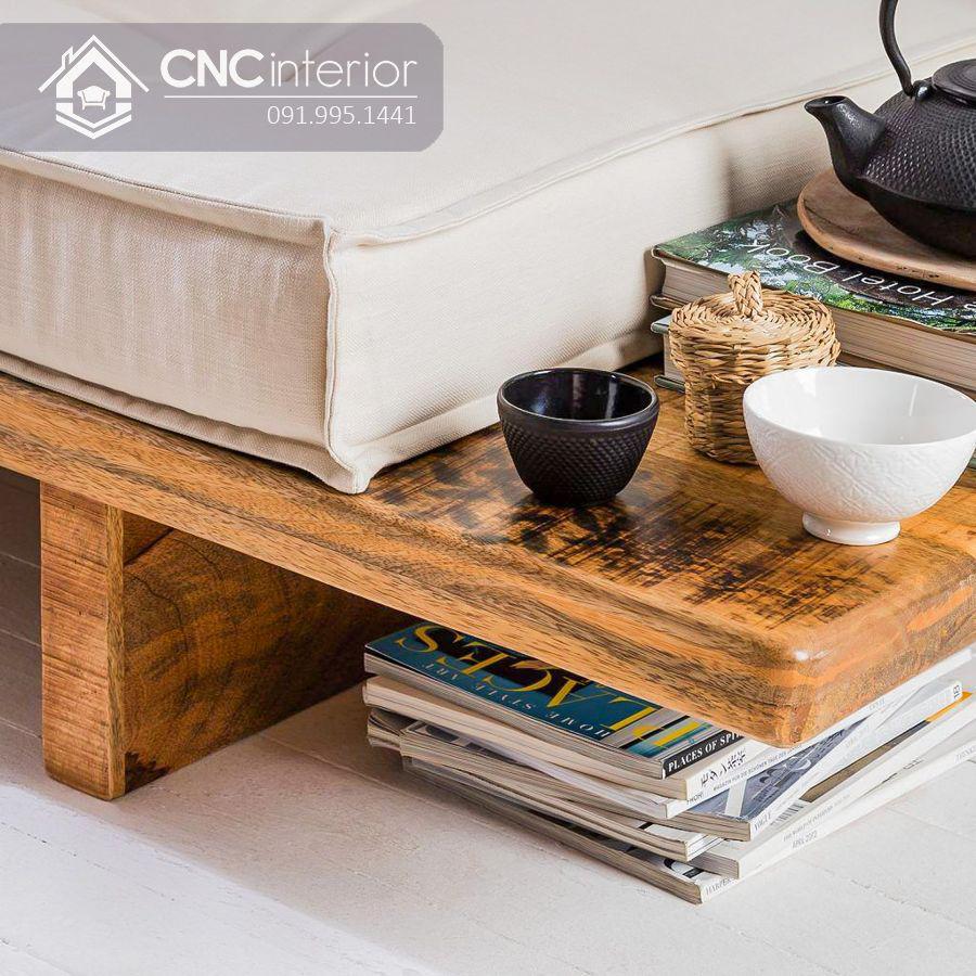 Ghế sofa chữ I phong cách Japandi tối giản CNC 11 3