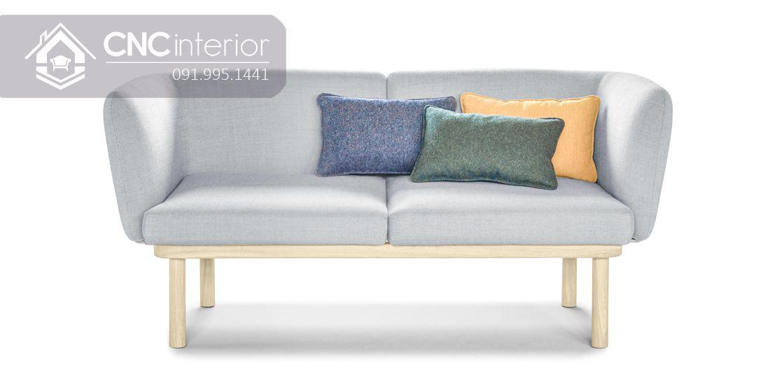 Ghế sofa gỗ sồi đơn giản gọn gàng CNC 13 2
