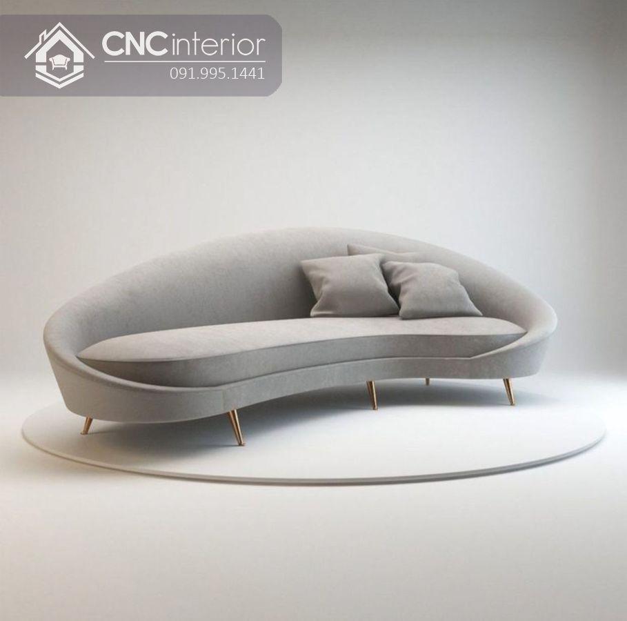 Ghế sofa cao cấp cho phòng khách sang trọng CNC 14