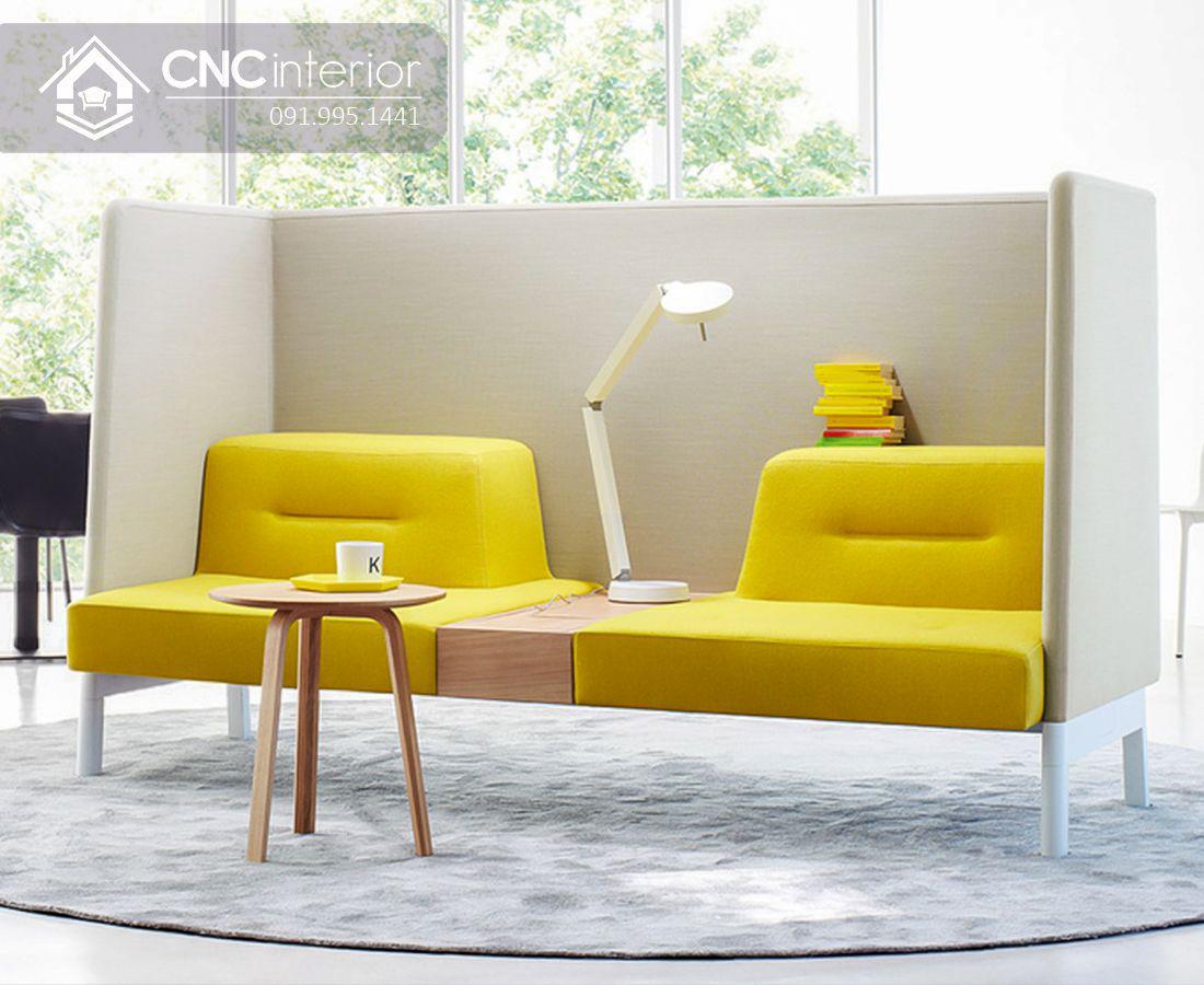 Ghế sofa ghép đôi độc đáo đẹp trẻ trung CNC 19 3