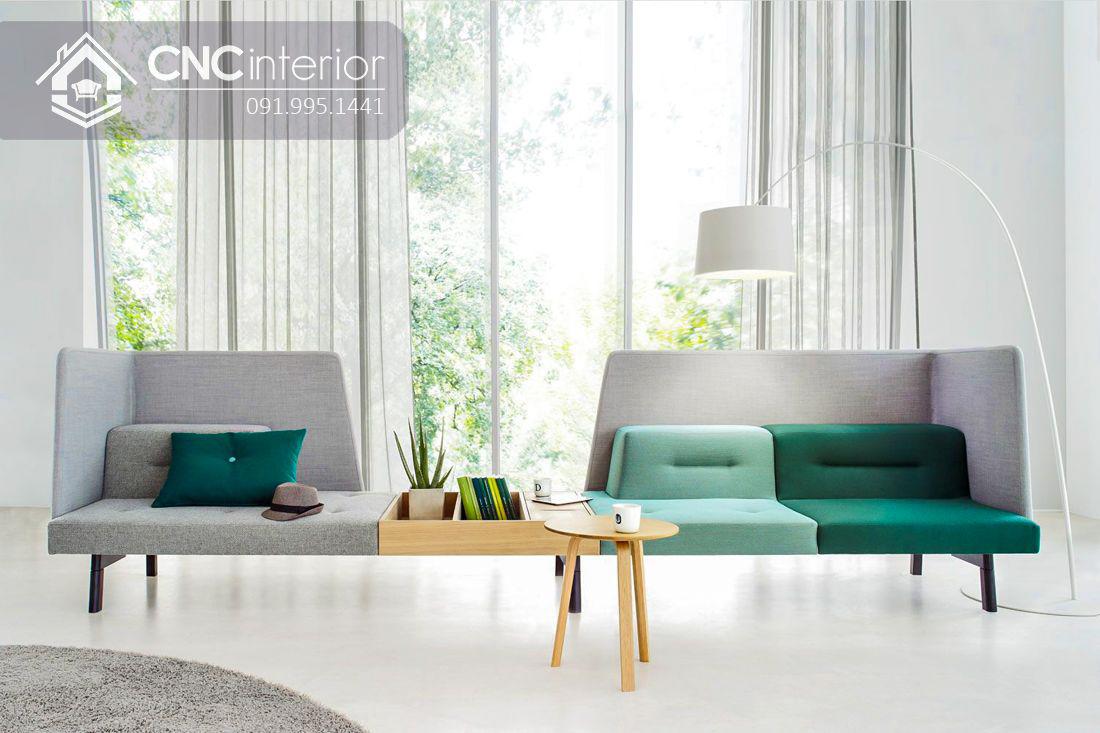 Ghế sofa ghép đôi độc đáo đẹp trẻ trung CNC 19 2