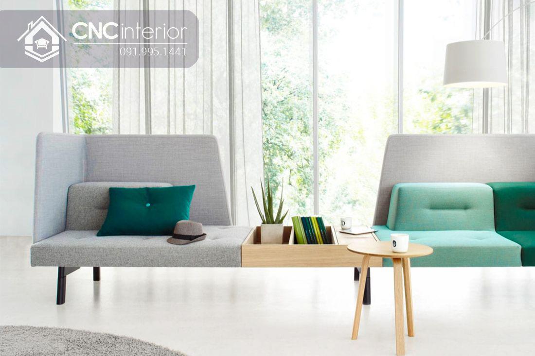 Ghế sofa ghép đôi độc đáo đẹp trẻ trung CNC 19 1