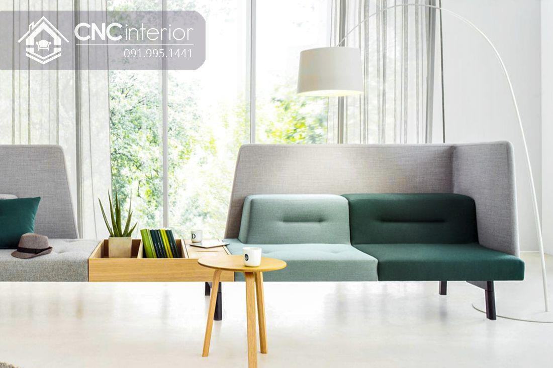 Ghế sofa ghép đôi độc đáo đẹp trẻ trung CNC 19
