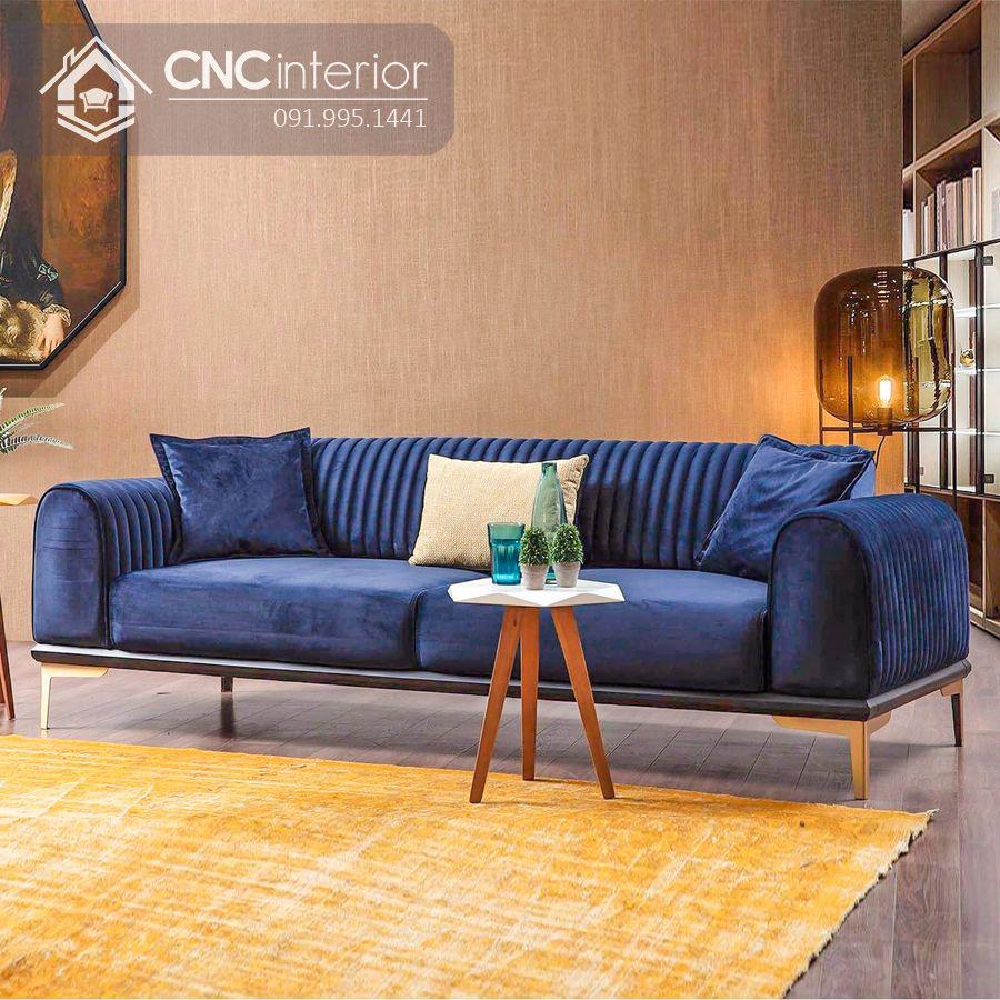 Ghế sofa chữ I đẹp sang trọng CNC 02 3