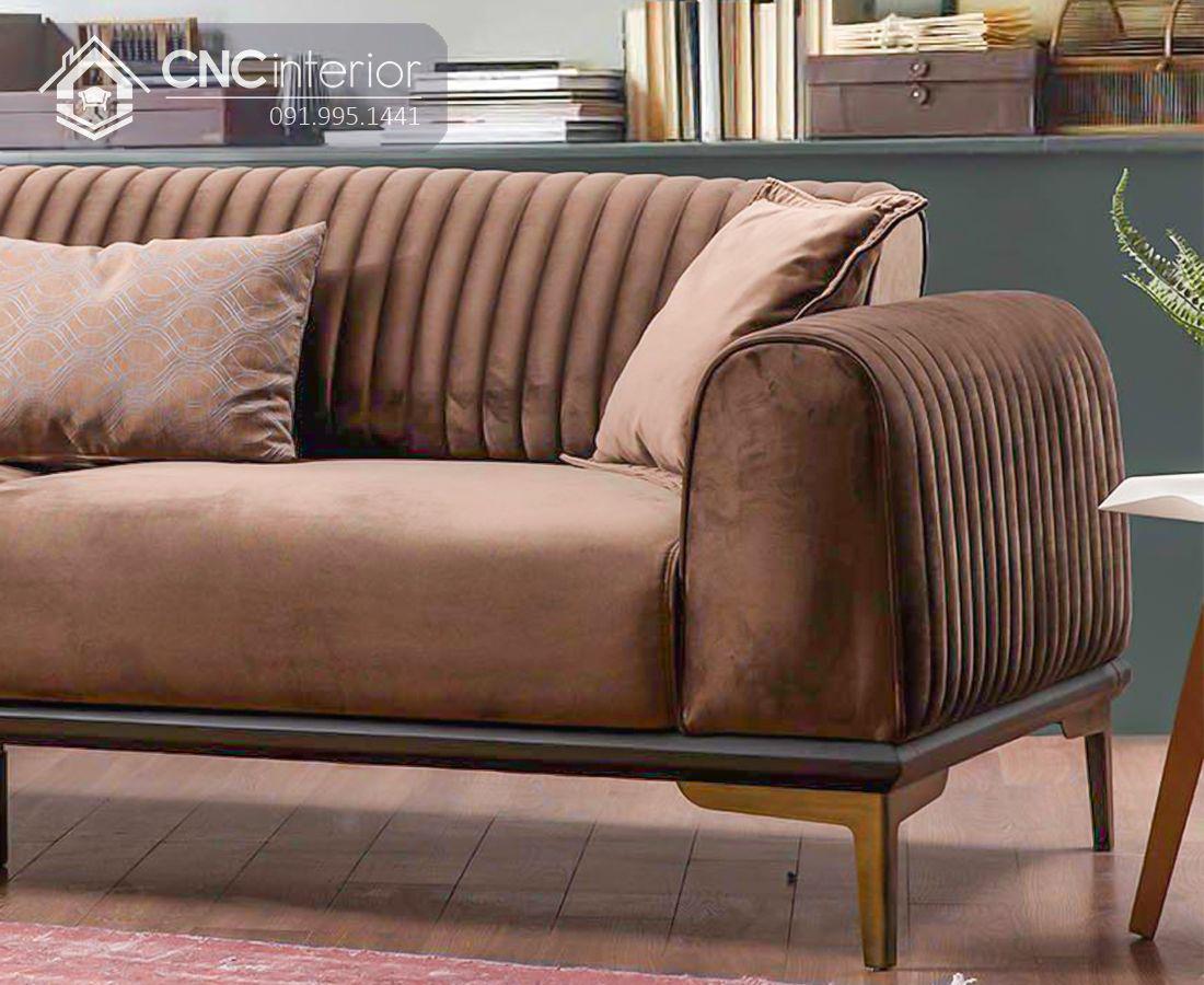 Ghế sofa chữ I đẹp sang trọng CNC 02 1