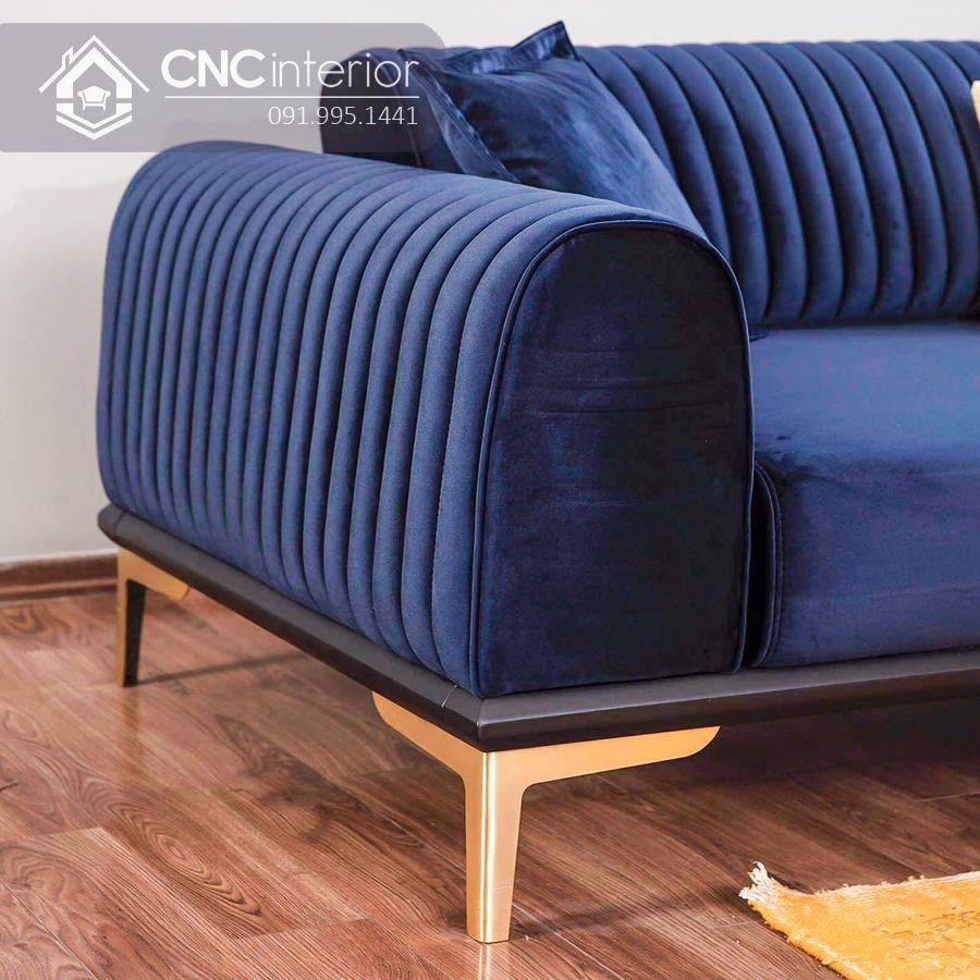 Ghế sofa chữ I đẹp sang trọng CNC 02 2