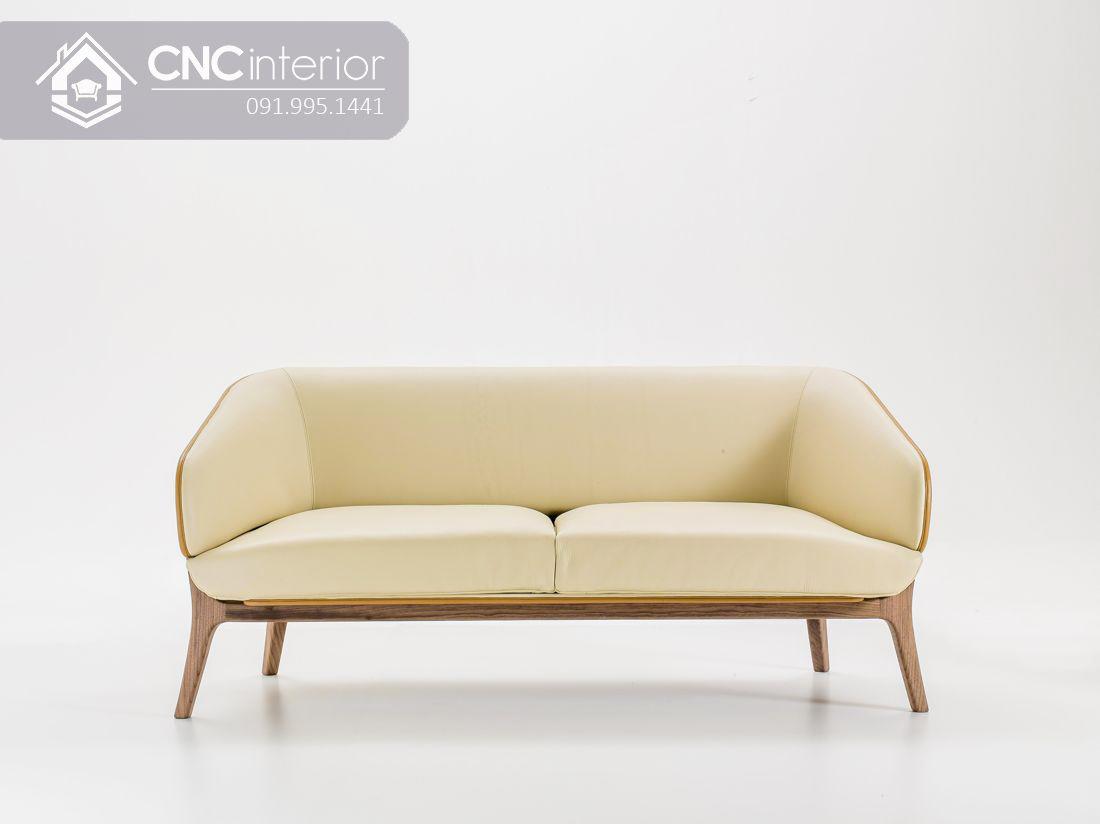 Ghế sofa đôi 2 người ngồi nhỏ gọn CNC 22 2