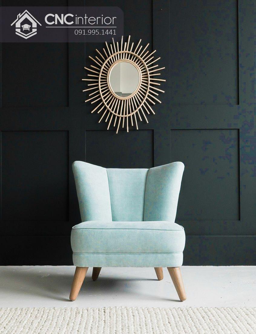 Ghế sofa nhỏ đẹp cho quán cafe CNC 23 2