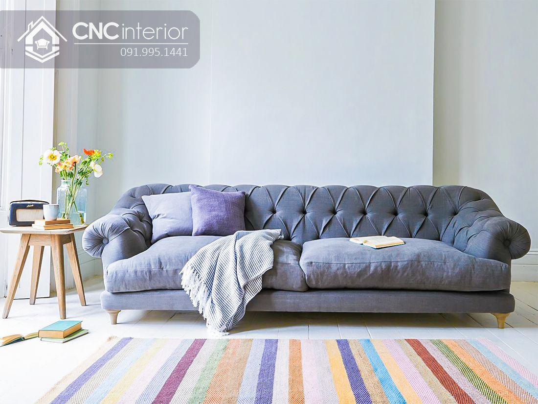 Ghế sofa dài 1m8 đẹp cho phòng khách CNC 24