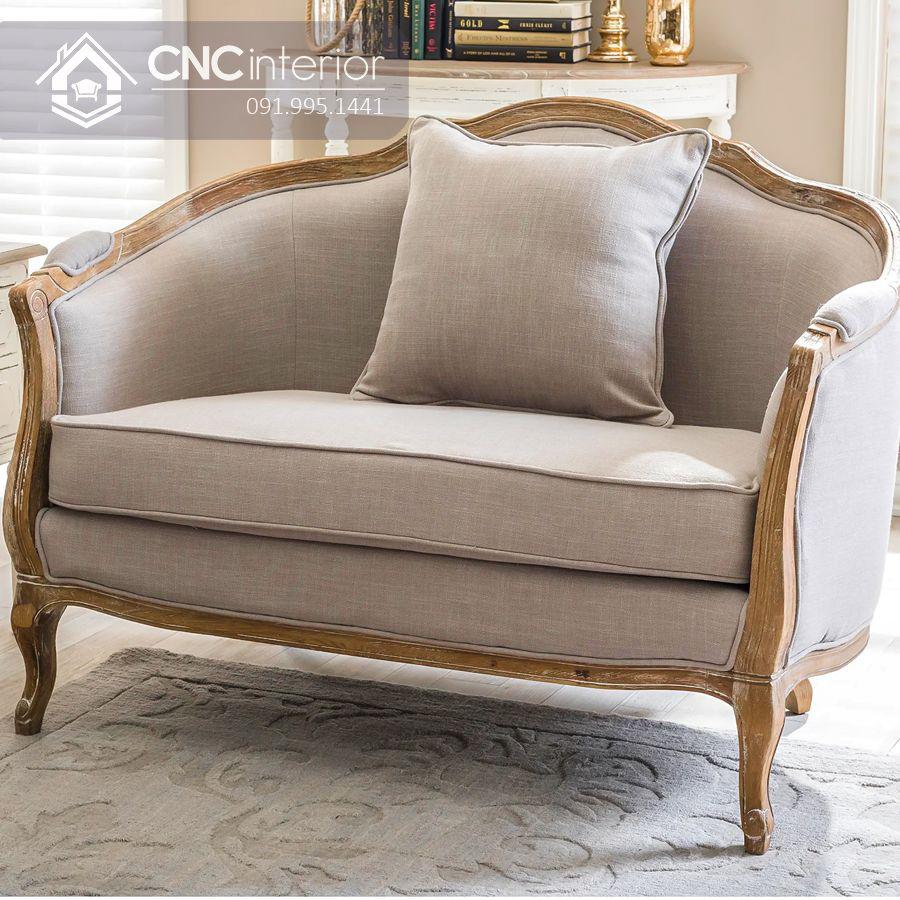 Ghế sofa phong cách tân cổ điển trang trọng CNC 25 1
