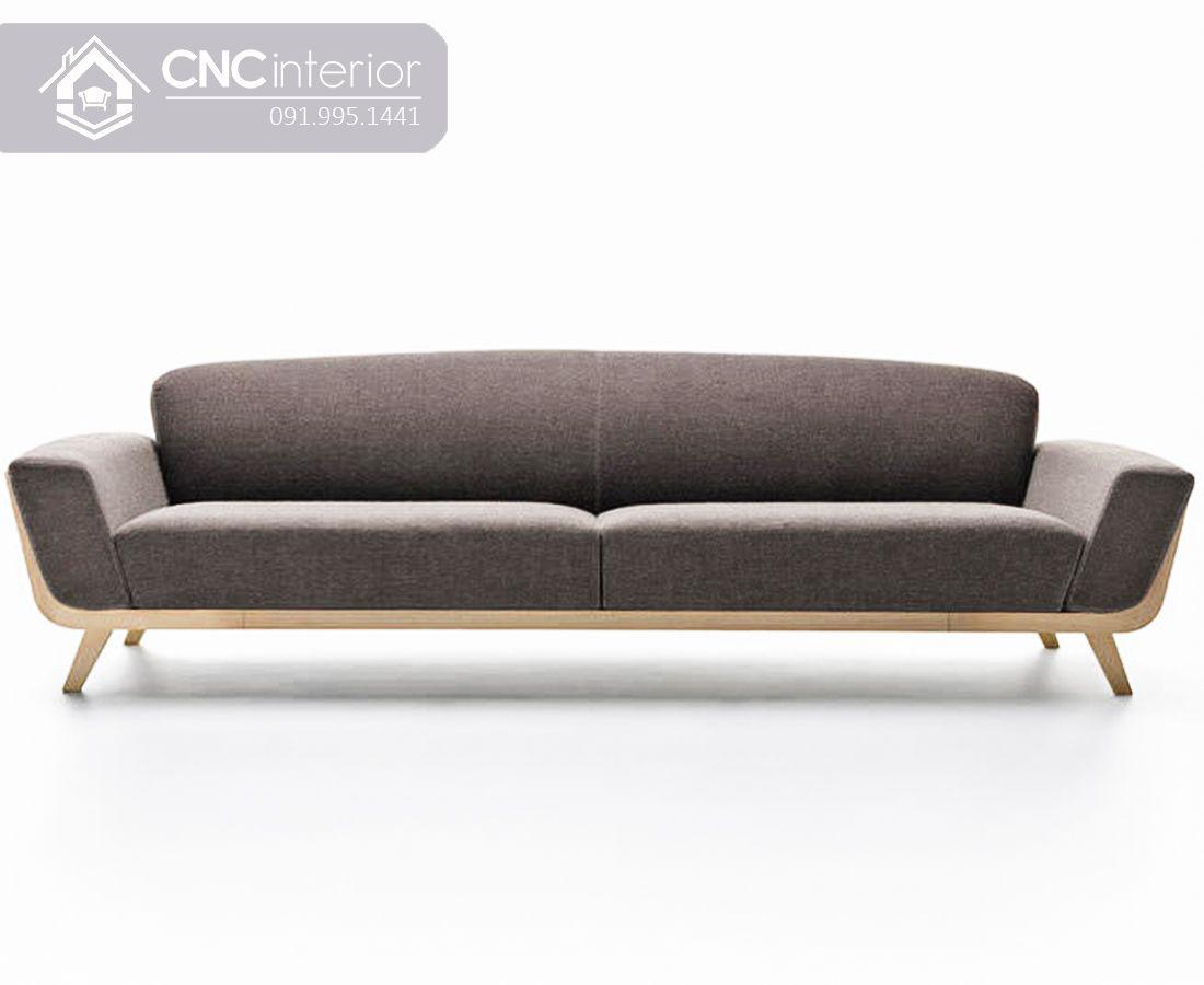 Ghế sofa dài đơn giản phá cách CNC 03