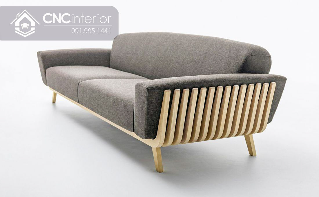 Ghế sofa dài đơn giản phá cách CNC 03 1