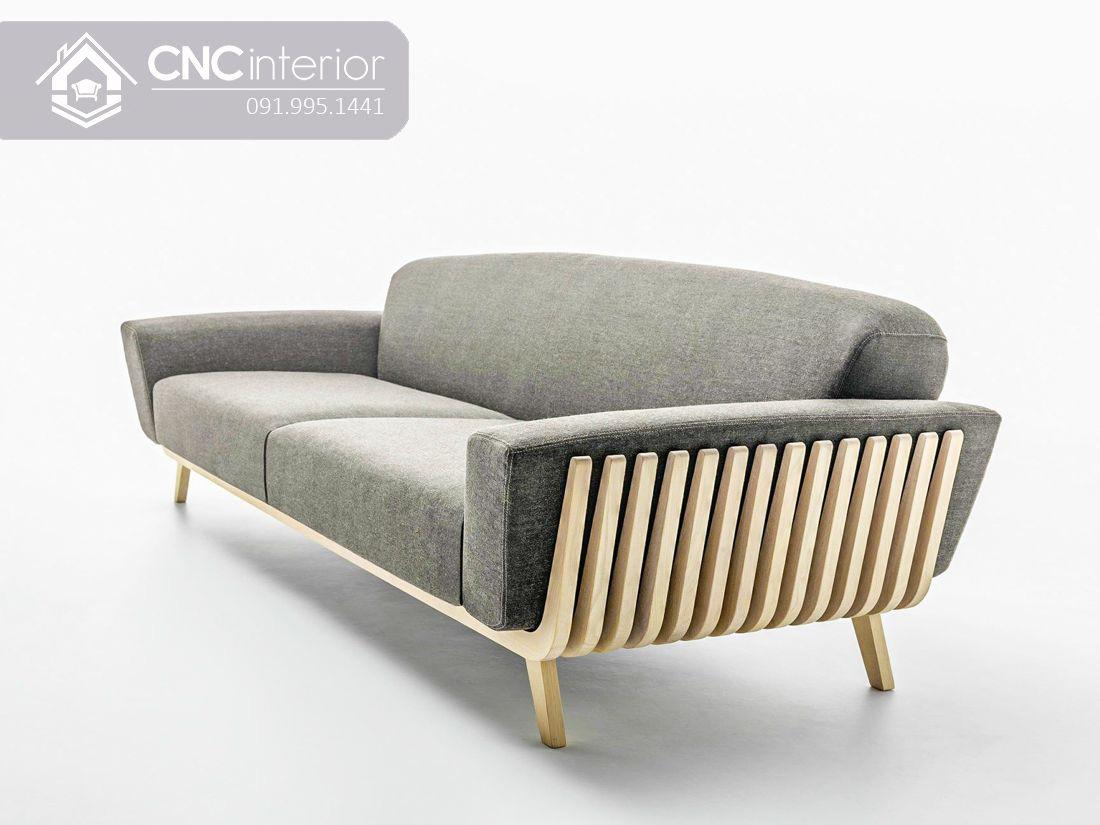 Ghế sofa dài đơn giản phá cách CNC 03 3