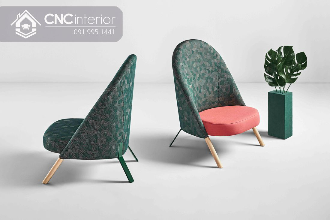 Ghế sofa gỗ bọc vải đẹp đơn giản CNC 34  1