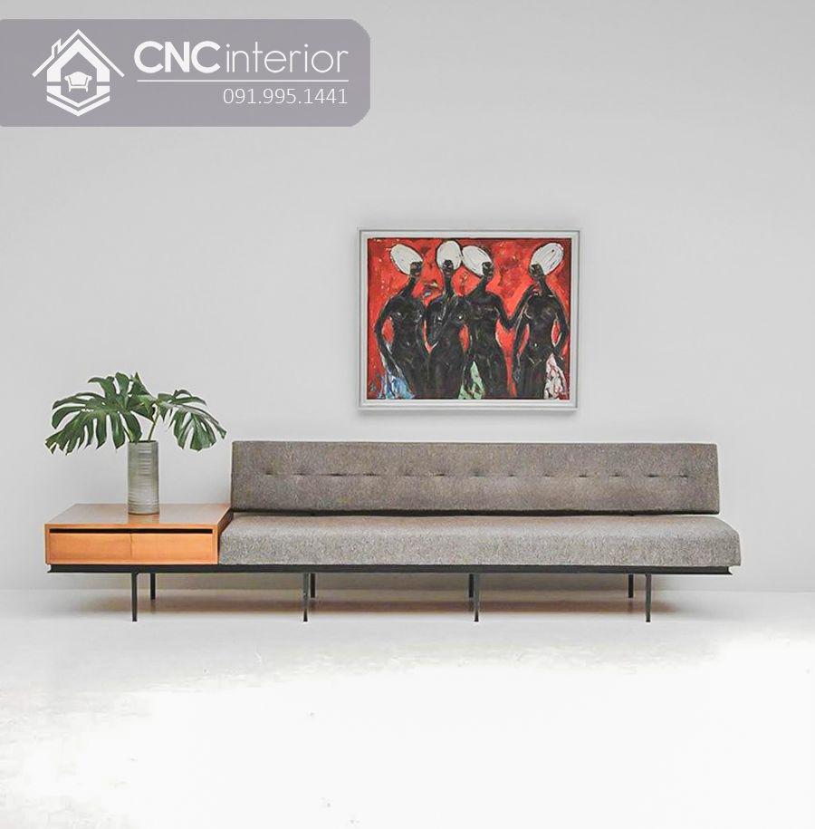 Ghế sofa dài phong cách tối giản CNC 35