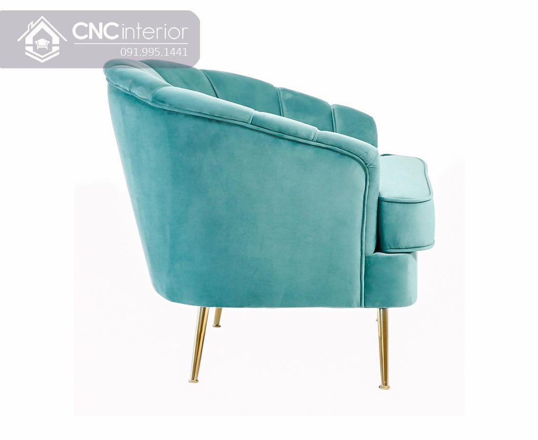 Ghế sofa sang trọng thư giãn trong phòng ngủ CNC 43